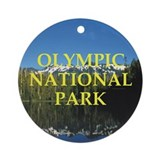 ABH Olympic NP Ornament (Round)