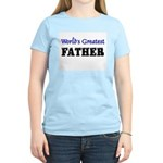 World's Greatest FATHER Women's Light T-Shirt