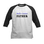World's Greatest FATHER Kids Baseball Jersey