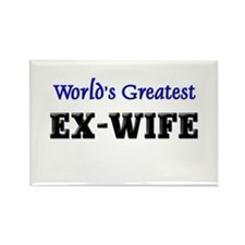 World's Greatest EX-WIFE Rectangle Magnet (10 pack
