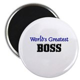 "World's Greatest BOSS 2.25"" Magnet (10 pack)"
