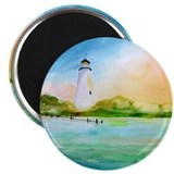 Ocracoke Lighthouse 2.25&amp;quot; Magnet (10 pack)