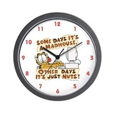 Garfield Just Nuts Wall Clock