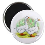 Embden Goose Pair Magnet