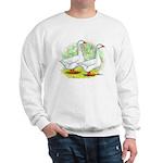 Embden Goose Pair Sweatshirt