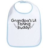 Grandpa's Fishing Buddy Bib