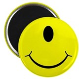 Cyclops Smiley Face Magnet