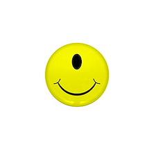 Cyclops Smiley Face Mini Button (10 pack)