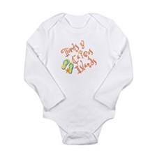Turks and Caicos - Long Sleeve Infant Bodysuit