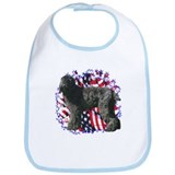 Black Russian Patriotic Bib