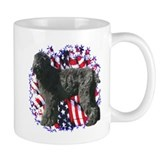 Black Russian Patriotic Coffee Mug