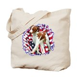 Brittany Patriotic Tote Bag