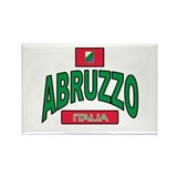 Abruzzo Italy Rectangle Magnet