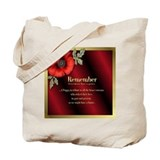 Remember Poppy Tote Bag