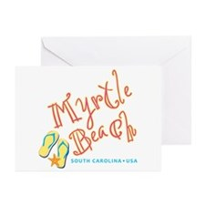 Myrtle Beach - Greeting Cards (Pk of 10)