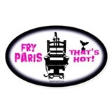 Fry Paris Oval Decal