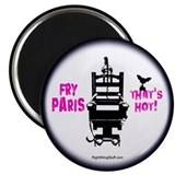 "Fry Paris 2.25"" Magnet (10 pack)"