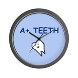 A+ TEETH (GIFTS) Wall Clock