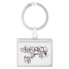 LOVETANGLE Landscape Keychain