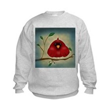 Red Bird Cardinal Sweatshirt