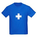 SWISS CROSS FLAG T