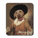 Yellow Lab JOLLY DRINKER Mousepad