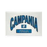 Campania Italy Rectangle Magnet