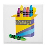 Gifts for Preschool Teachers Tile Coaster