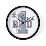 Number 1 Granddad Wall Clock