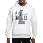 Number 1 Granddad Hooded Sweatshirt