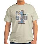 Number 1 Granddad Light T-Shirt