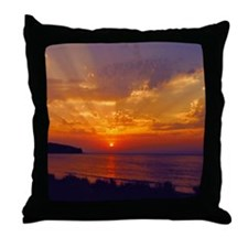 Dawning of Day CD Art Throw Pillow