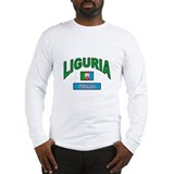 Liguria Italy Long Sleeve T-Shirt