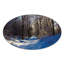 Snow Trail Scenery Stickers