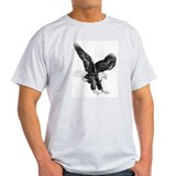Sketch Of Eagle Landing T-Shirt