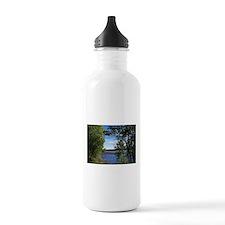 Lake View Scenery Water Bottle