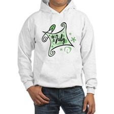 Due in July [Green] Hoodie
