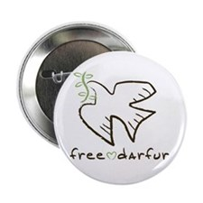 "Free Darfur, Sudan 2.25"" Button (10 pack)"