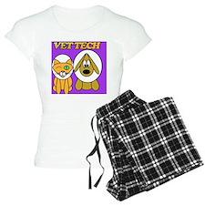 vet tech veterinary technic Pajamas