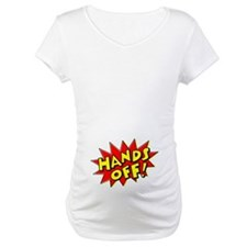 Hands Off Baby Bump Shirt