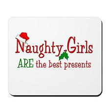 Naughty Girl Mousepad