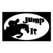 Funny Horse jumping Decal