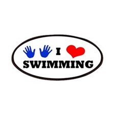 I Luv Swimming Patches