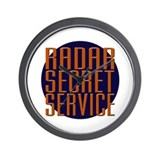 Radar Secret Service Wall Clock