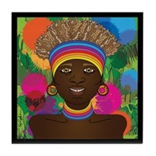 Ethiopian Pride Tile Coaster