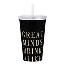 Unique Drinking sayings Acrylic Double-wall Tumbler