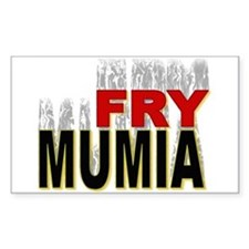 Fry Mumia Sticker (Rect.)