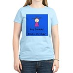 My Daddy Does My Hair Two Women's Light T-Shirt