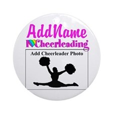 AWESOME CHEER Ornament (Round)