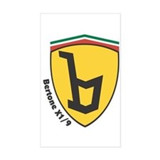 X19 Bertone Badge Decal